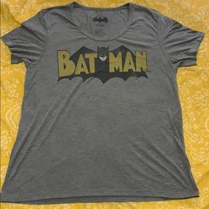 Grey Batman Shirt Old School size XL